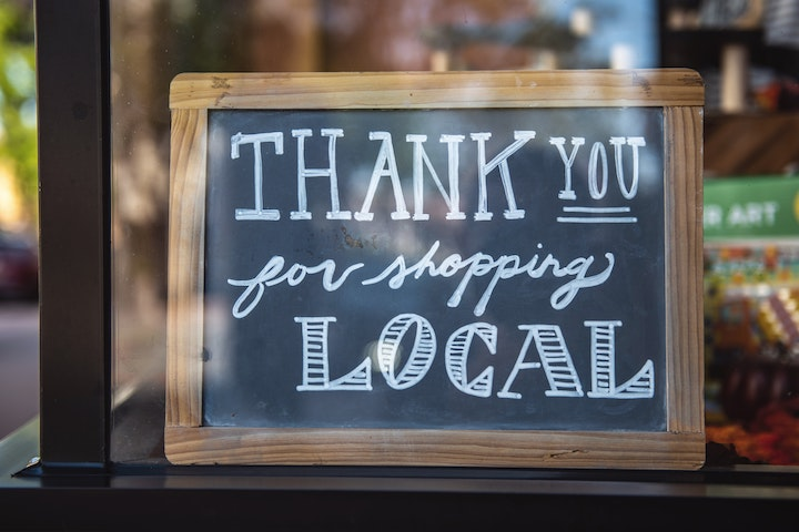 Thanks for supporting local